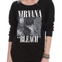 Nirvana Bleach Long-Sleeved Girls T-Shirt