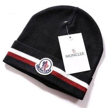 Moncler New Style 6 Cable Knit Beanie