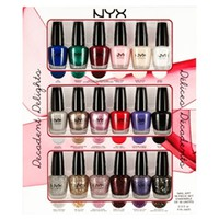 DECADENT DELIGHTS NAIL ART COLLECTION | NYX Cosmetics