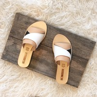 Twisted Slide Sandal