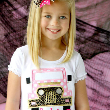 Girls Jeep Embroidered Shirt - Its A Jeep Thing Shirt - Pink Truck Shirt - Jeeps Are For Girls Shirt - Silly Boys Shirt - ATV - Jeep - Girl