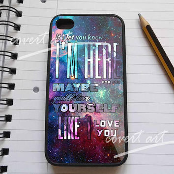 one direction love lyrics quotes in galaxy for iPhone 4 / 4S / 5 /5c /5s Case Samsung Galaxy S3 / S4 Case