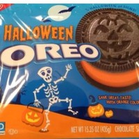 Nabisco Oreo Halloween Chocolate Sandwich Cookies Limited Edition American candy