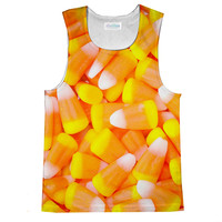 Candy Corn Loose Tank Top