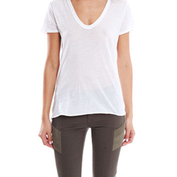 Enza Costa Loose Short Sleeve Tee
