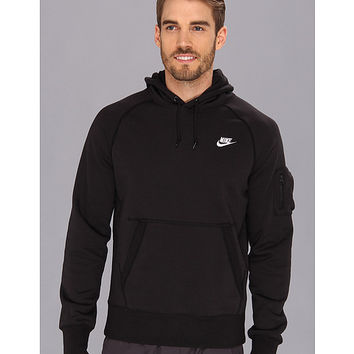 496308132 Nike AW77 Fleece Pullover Hoodie from Zappos.com