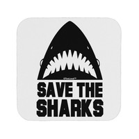 Save The Sharks Coaster