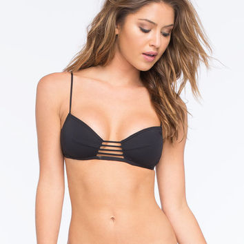 Rip Curl Sunburst Balconette Bikini Top Black  In Sizes