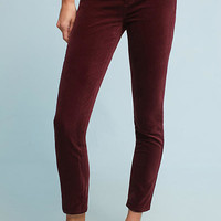 AG The Stevie Mid-Rise Skinny Velvet Jeans