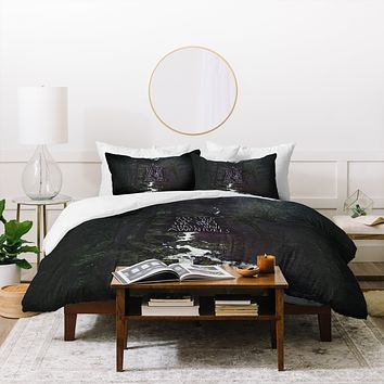Leah Flores Curious Adventures Duvet Cover
