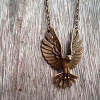 eagle  necklace, -Christmas gift -  Best Chosen Gift