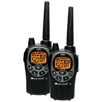 Midland 36-mile Gmrs Radio Pair Pack With Batteries & Drop-in Charger