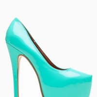 Liliana Mint Maniac Almond Toe Pumps @ Cicihot Heel Shoes online store sales:Stiletto Heel Shoes,High Heel Pumps,Womens High Heel Shoes,Prom Shoes,Summer Shoes,Spring Shoes,Spool Heel,Womens Dress Shoes
