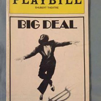 Big Deal  Playbill
