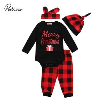 Merry Christmas Plaid Outfit