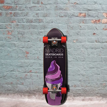 Madrid Midget Cruiser - Ice Shrimp Skateboard 30 inch - Complete