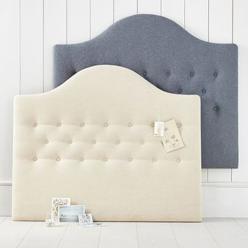 No Nails Tufted Headboard