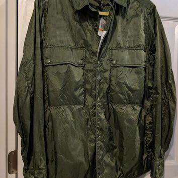Sempach Maske Parachute Field Jacket for Men, Olive Green SM  New With Tags