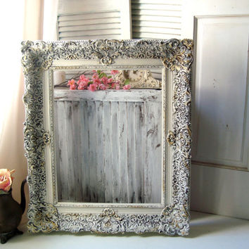 Best ornate photo frames products on wanelo - Antique white picture frames ...