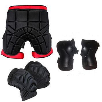 Skateboarding Shorts Child Sport Racing Skiing Safety Protective Motorcycle Snowboard Skating Roller Armor Pad Hip Protector Q18