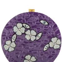 Purple Jasmine Clutch