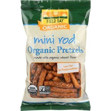 Field Day Pretzels - Organic - Mini Rod - 8 oz - case of 12