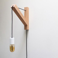 Bracket Lamp by Dino Sanchez for Dino Sanchez - Free Shipping