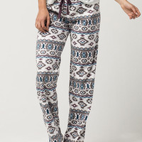 COSMIC LOVE Fair Isle Polar Fleece Womens PJ Pants | Pajamas