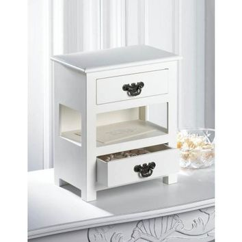 DOUBLE DRAWER MINI TABLE