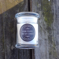 Soy candle coconut lime verbana white natural minimal Valentine's Day gift for her hand made bridesmaids gift party favor