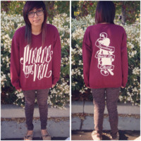 Pierce The Veil Hold On Till May Crewnecks