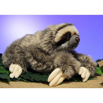 NEW THREE TOED SLOTH PLUSH TOYS 30CM SOFT SOFT STUFFED DOLL TEDDY