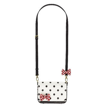 Disney Parks Minnie Mouse Bow Crossbody Bag New with Tag