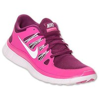 Nike Free 5.0+ Womens Size Running Shoes Rasberry Red Sneakers 580591 616