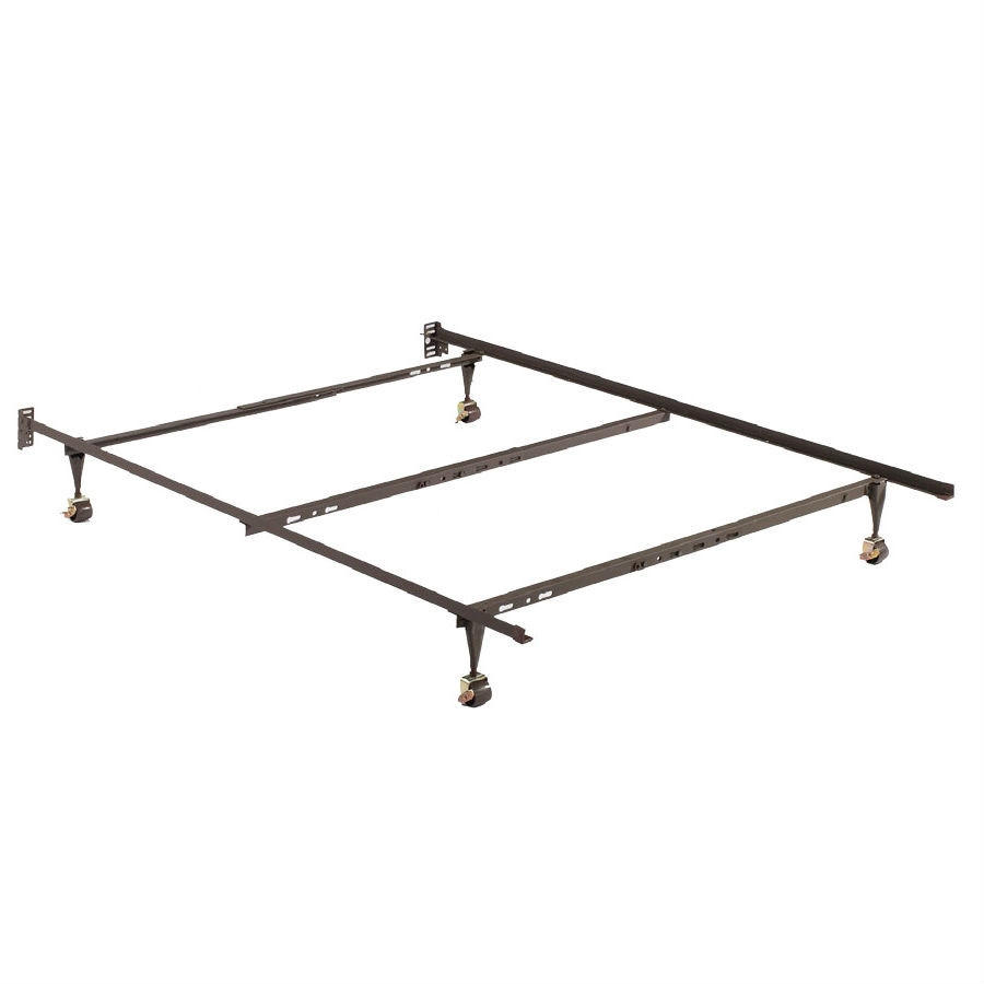 twin full queen size 4 leg metal bed from beyond furniture
