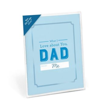 Knock Knock What I Love About Dad Fill in the Love® Card
