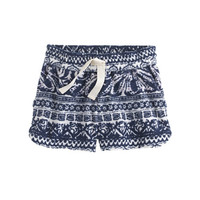 crewcuts Girls Paisley Terry Short