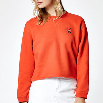 Calvin Klein Boyfriend Raw Edge Sweatshirt at PacSun.com