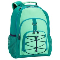 Gear-Up Mint Colorblock Backpack
