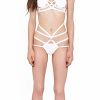 Reckless Wolf Raw White Strap Body
