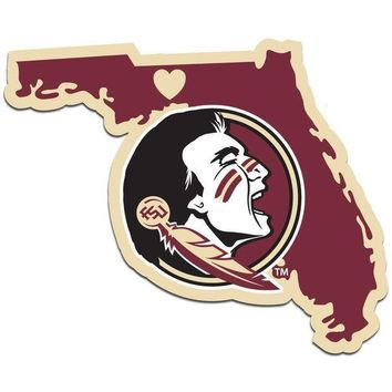 ESBON NCAA Florida State Seminoles Home State Decal
