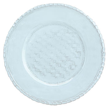 Vietri, Bellezza Sky Blue Serving Plate/Charger, Chargers