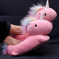 Unicorn USB Heated | SLIPPERS