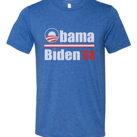 Obama Biden '08 Tri Blend T Shirt