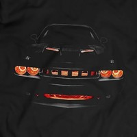 Dodge Challenger R/T Musclecar Auto Racing Car T-shirt 100% Cotton Holiday Gift Birthday