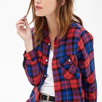 Plaid Flannel Western Shirt