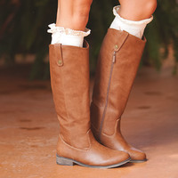 Season Change Riding Boots Brown