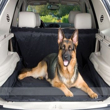 Luxurious Pet Car Mat-Color Red