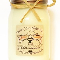 Comforting Coconut Natural Hand Poured Soy Candles