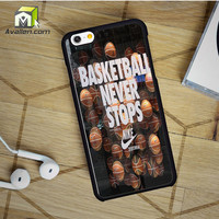 Nike Basketball iPhone 6 Case by Avallen